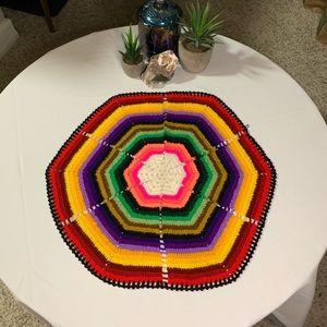 Bohemian Hand Sewn Bright Table Decor
